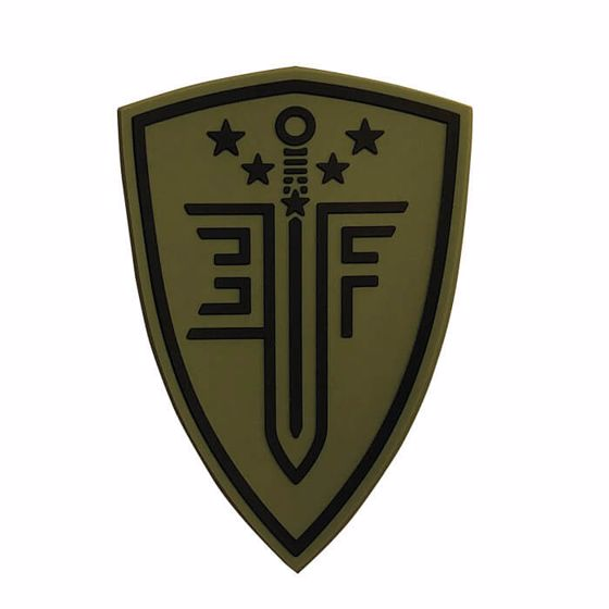 Picture of ELITE FORCE SHIELD RUBBER PATCH GREEN