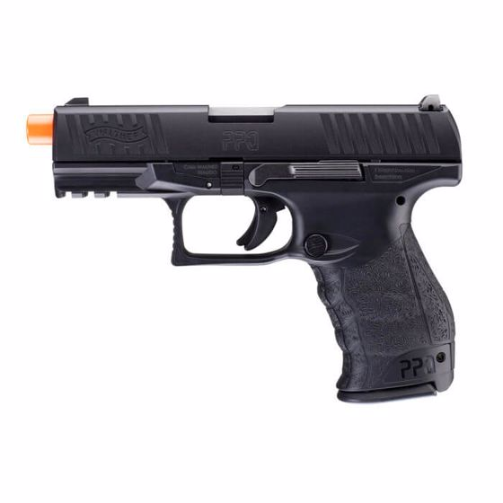 Picture of WALTHER PPQ GBB 6mm Black Airsoft Pistol : Elite Force