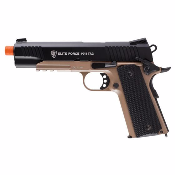 Picture of ELITE FORCE 1911 TAC - BLACK/DARK EARTH BROWN