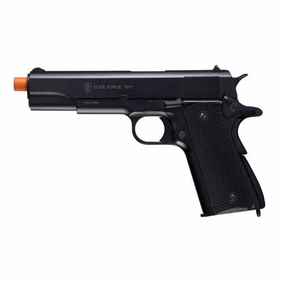 Picture of ELITE FORCE 1911 A1 CO2 Blowback 6mm Airsoft Pistol Black